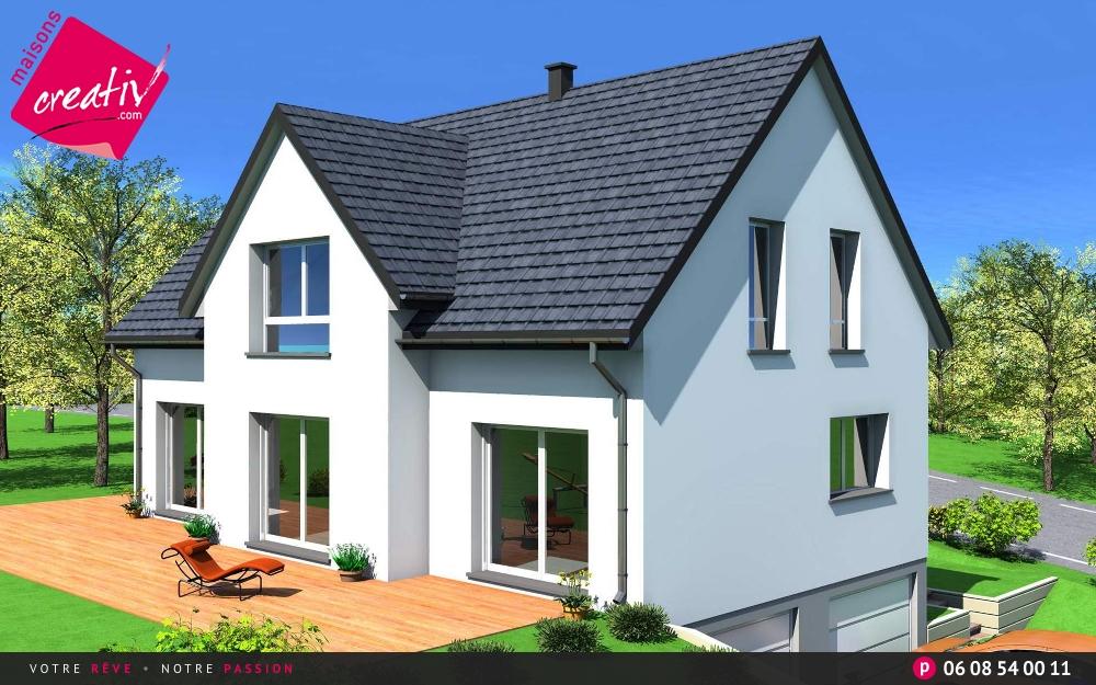 Prix maison alsace devis maison individuelle camille for Plan de maison avec sous sol
