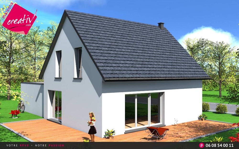les r alisations et les plans maisons alsace fanny. Black Bedroom Furniture Sets. Home Design Ideas