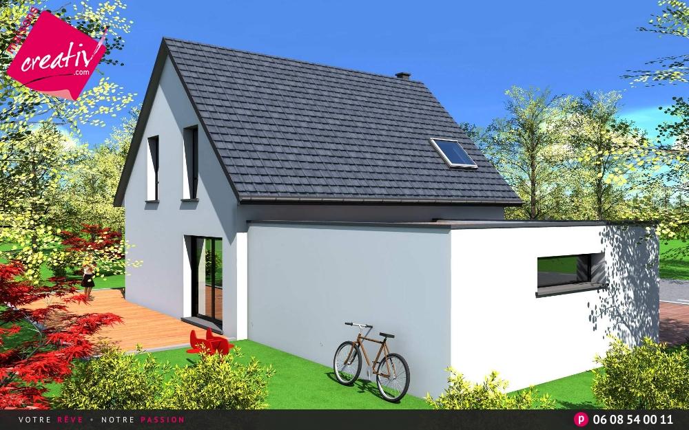 maison traditionnelle alsace maison contemporaine moderne fanny maisons creativ. Black Bedroom Furniture Sets. Home Design Ideas