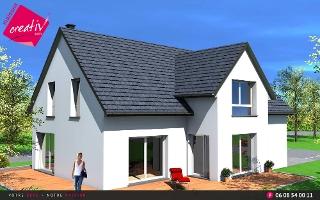 construction maison alsace haut rhin constructeur maisons maisonscreativ. Black Bedroom Furniture Sets. Home Design Ideas