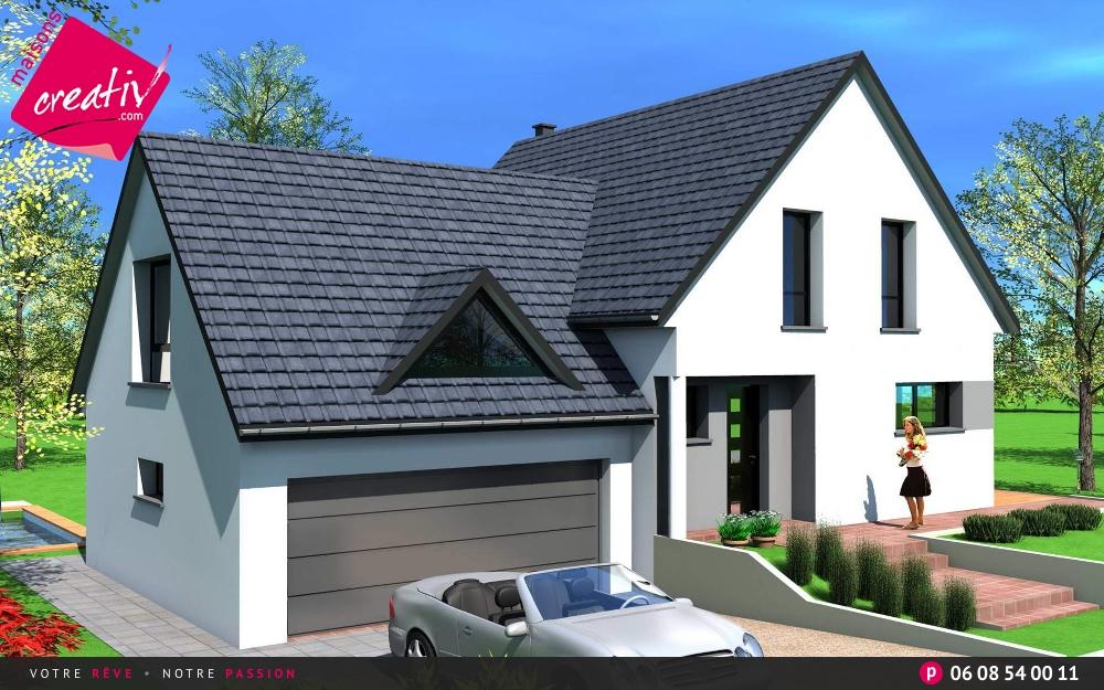 Prix maison alsace devis maison individuelle laetitia for Prix construction maison alsace