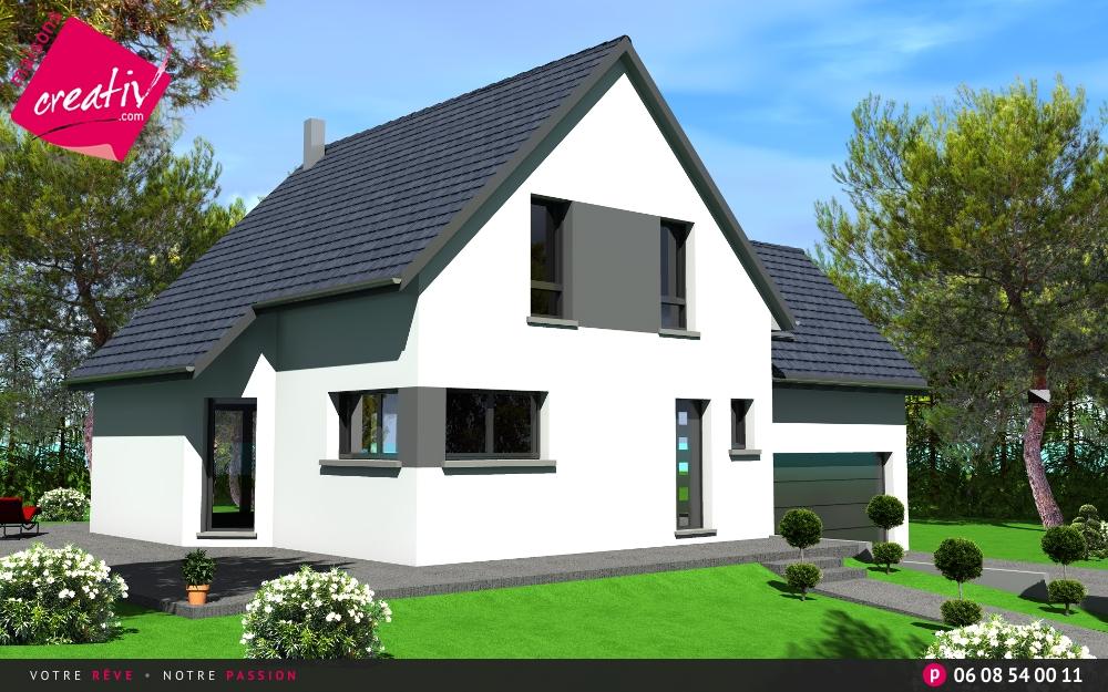 Les r alisations et les plans maisons alsace camille for Assurance maison en cours de construction