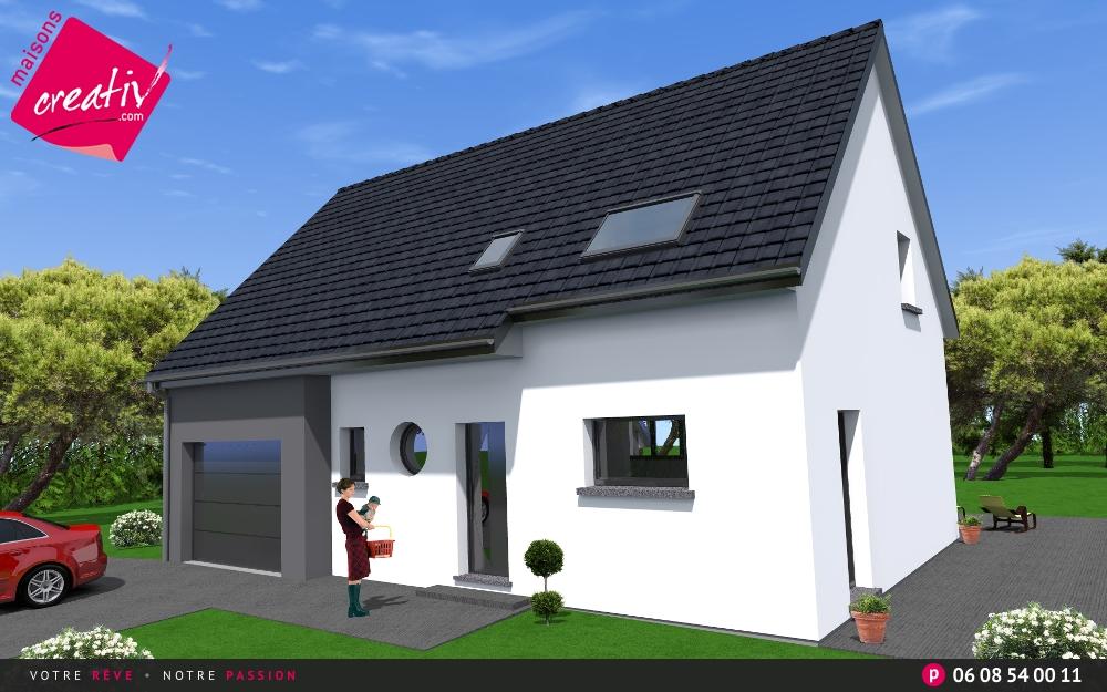 Les r alisations et les plans maisons alsace eva maisons for Assurance maison en cours de construction