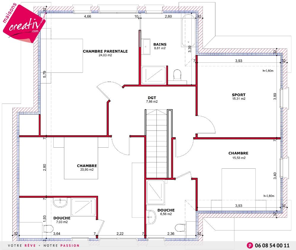 Nos Maisons Avec Garage Attenant De Plus De 140m En