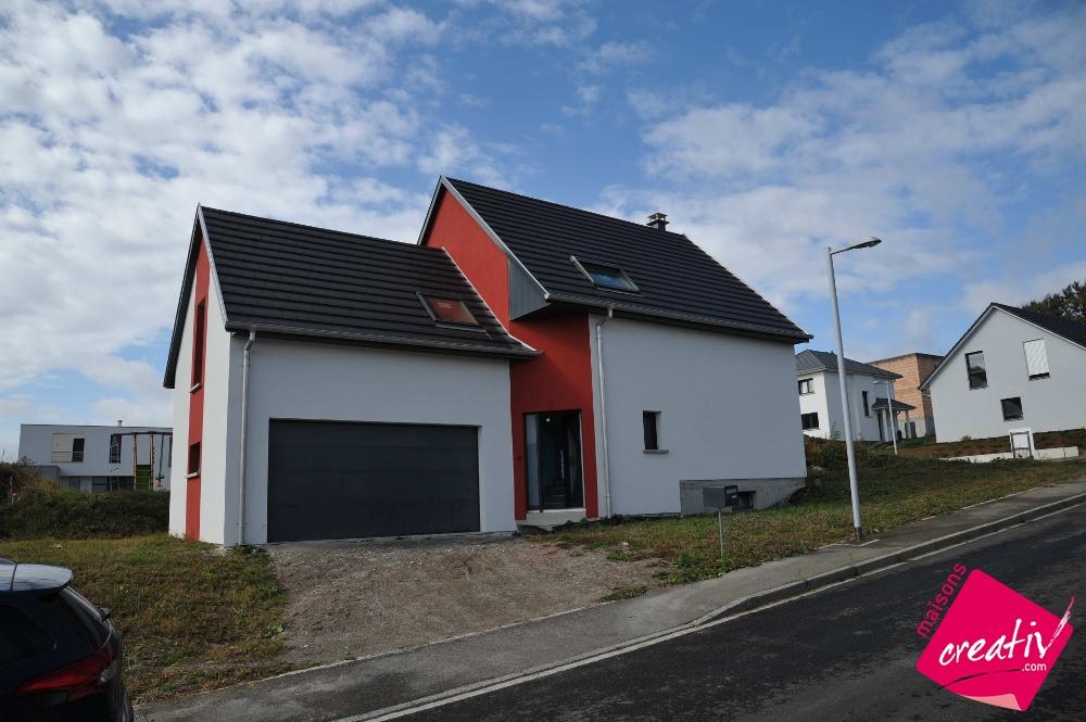 Maison traditionnelle alsace maison contemporaine for Porte ouverte maison