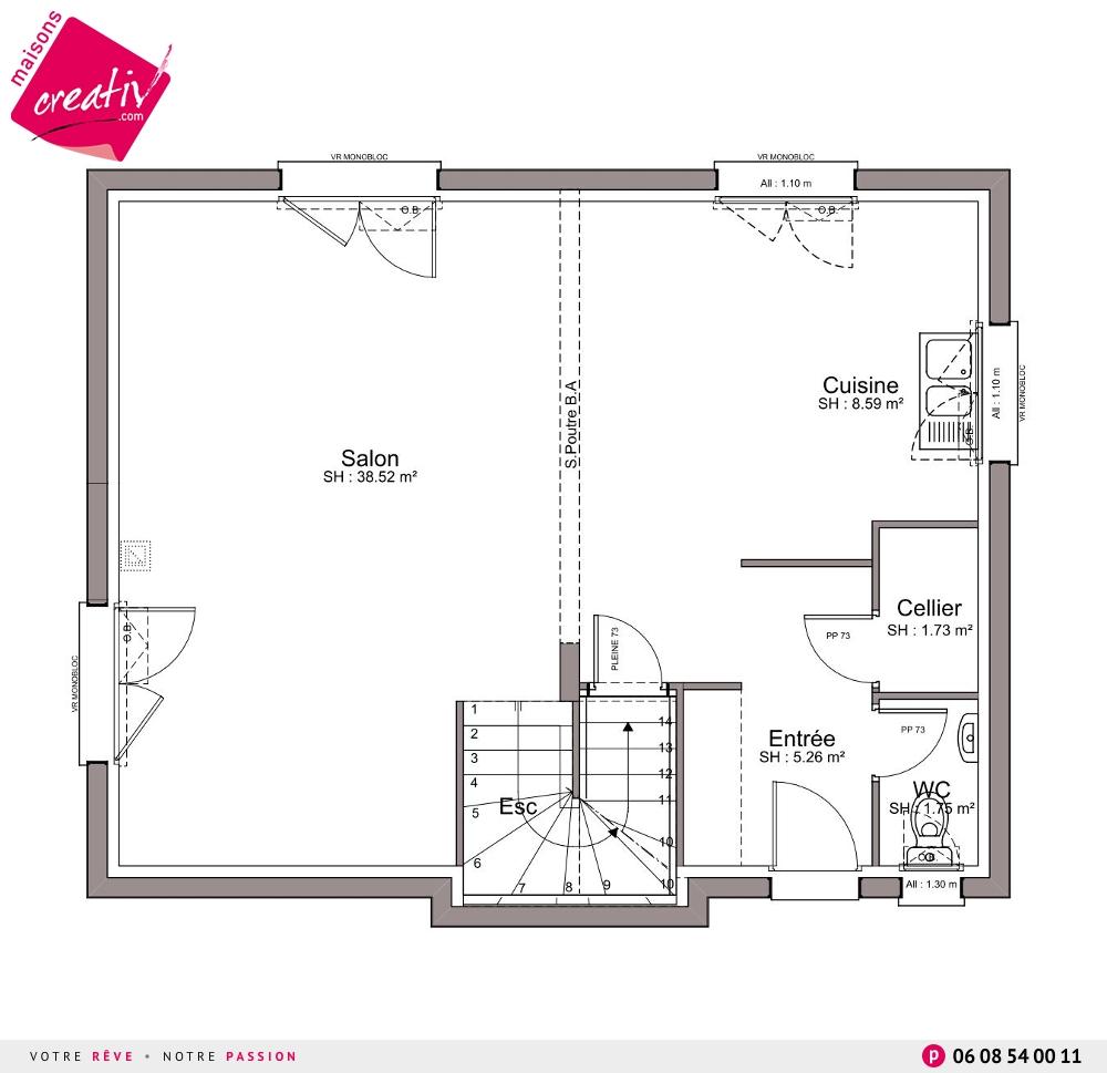 Architecture et perspectives amanda - Amanda maison segunda mano ...