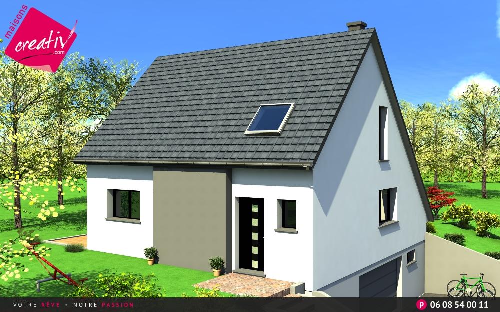 Prix maison alsace devis maison individuelle margaux for Maison individuelle prix