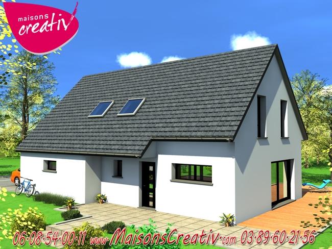 Nos maisons avec garage attenant de plus de 140m en for Garage toyota haut rhin