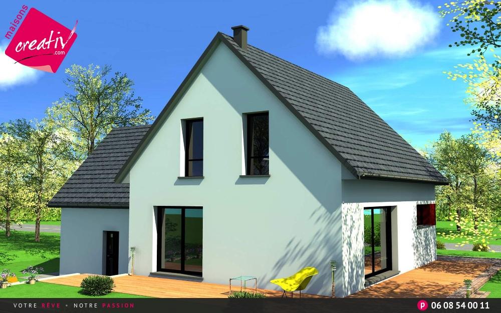 Prix maison alsace devis maison individuelle lauriane for Prix construction garage sous sol
