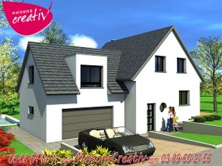 nos maisons avec garage attenant en alsace. Black Bedroom Furniture Sets. Home Design Ideas