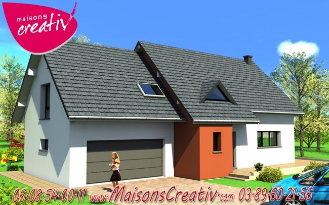 Prix maison alsace devis maison individuelle maeva for Prix construction maison alsace