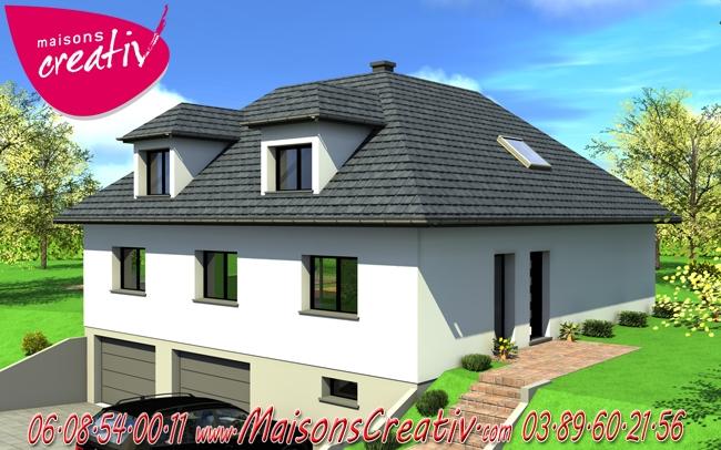 Maison Bbc Plain Pied. Free Moderne Plan Maison Design Plain Pied En ...