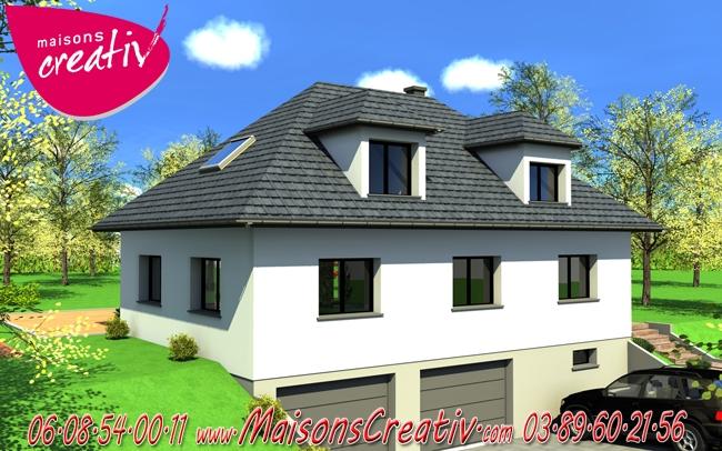 Prix maison alsace devis maison individuelle manuella for Prix construction maison alsace