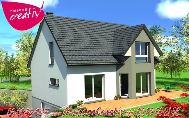 Prix maison alsace devis maison individuelle clara for Prix construction maison alsace