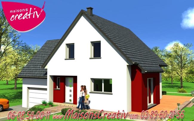 Prix maison alsace devis maison individuelle claudie for Prix construction maison alsace