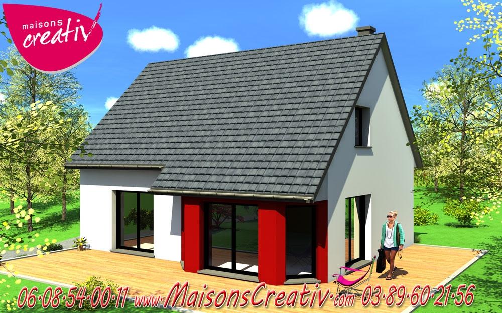 Maison tage 5 pi ces de maisons creativ sonia for Construction maison 89