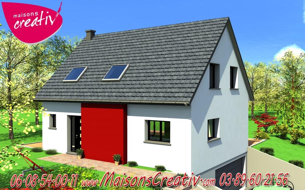 Prix maison alsace devis maison individuelle sonia for Maison individuelle prix