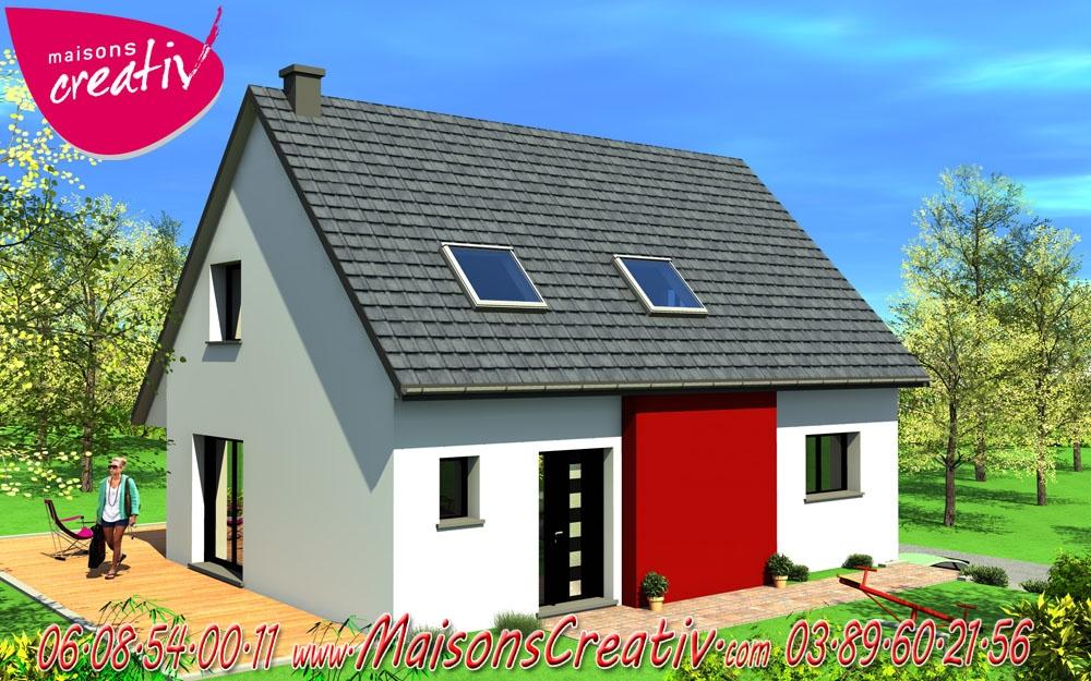 Prix maison alsace devis maison individuelle sonia for Devis maison individuelle