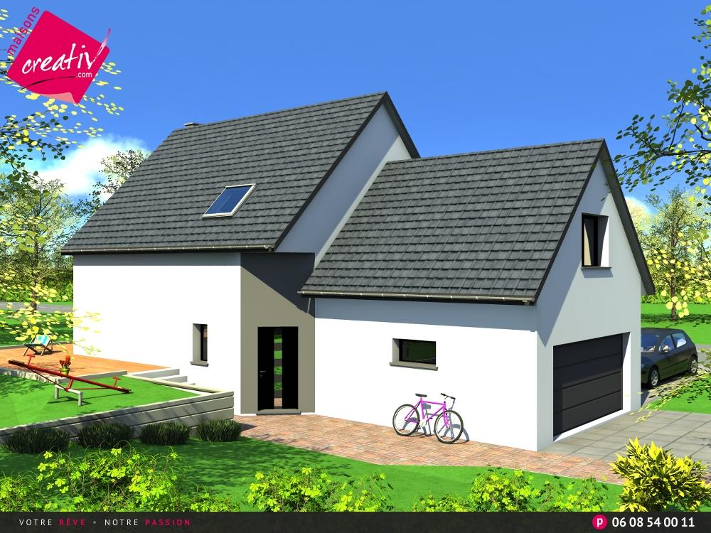 Les r alisations et les plans maisons alsace florence for Assurance maison en cours de construction