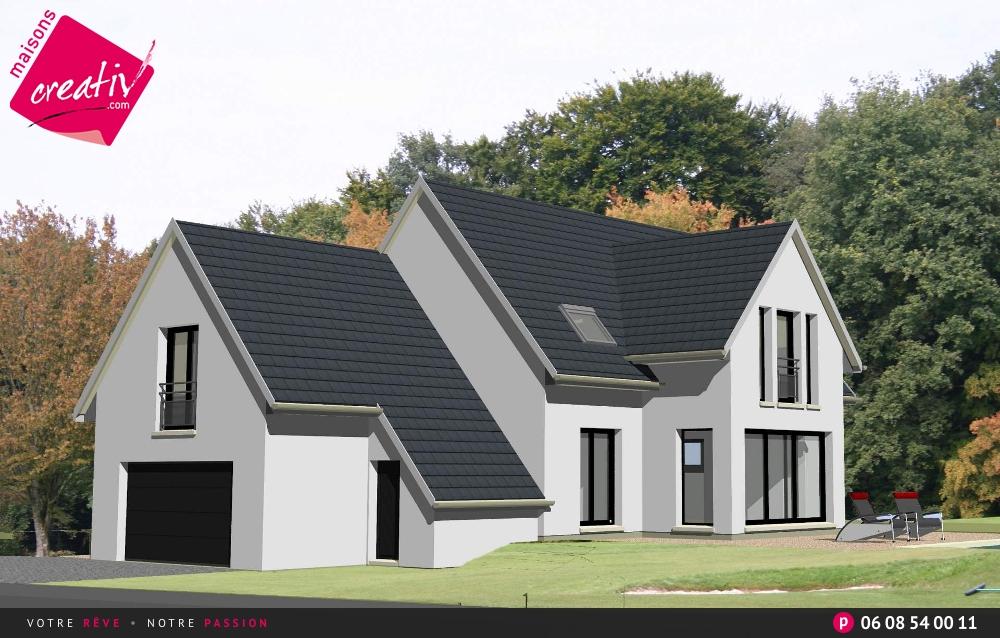 Plan de maison de sries joy studio design gallery best for Plan maison garage a droite