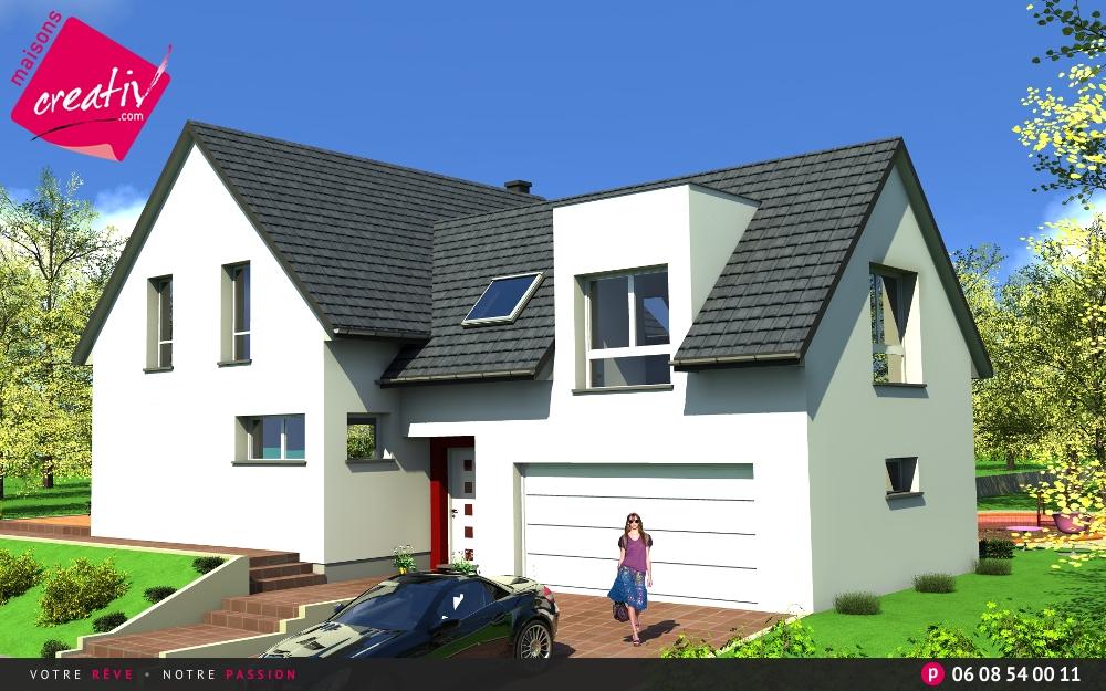 Nos Maisons Avec Garage Attenant De Plus De 140m En Alsace Lise